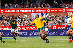 Bernard Foley of Australia during the Castle Lager Rugby Championship test match between South Africa and Australia held at Loftus Versfeld stadium in Pretoria on the 1st October 2016<br /> <br /> Photo by: Dominic Barnardt/ RealTime Images