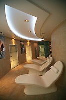 Launch of Royal Caribbean International's newest ship Allure of the Seas..Wellness Centre