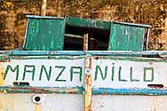Boat in Manzanillo, Granma, Cuba.