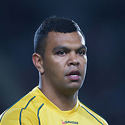 Kurtley Beale, Australia, during the New Zealand V Australia Tri-Nations, Bledisloe Cup match at Eden Park, Auckland. New Zealand. 6th August 2011. Photo Tim Clayton