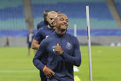 October 17, 2017 - Na - Leipzig, 10/16/2017 - Training to adapt to the pitch of the Fc Porto team at the Red Bull Arena, in anticipation of the game against RB Leipzig for the Champions League. Brahimi  (Credit Image: © Atlantico Press via ZUMA Wire)