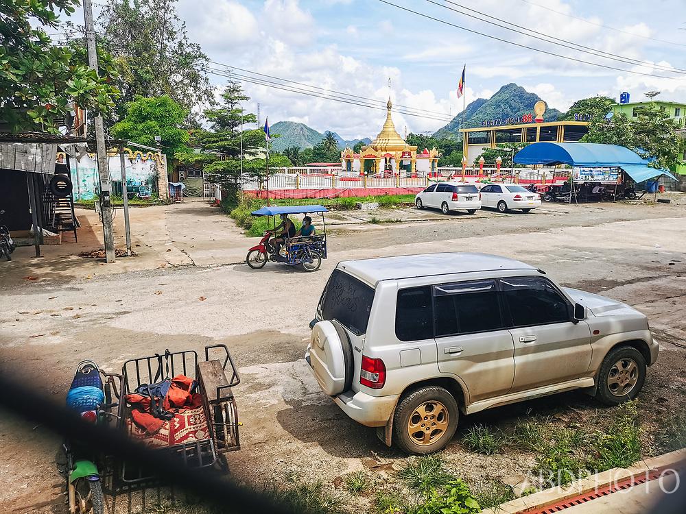 Sangkhlaburi, Kanchanaburi, Thailand