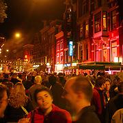 NLD/Amsterdam/20050806 - Gaypride 2005, optreden Imca Marina, overzicht Amstel