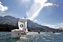 St Moritz Match Race 2010. World Match Racing Tour. St Moritz, Switzerland. 5th September 2010. Photo: Ian Roman/WMRT.