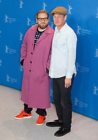 Cinematographer Christopher Blauvelt and Director, Screenwriter, Producer, Jonah Hill at the photocall for the film Mid90s at the 69th Berlinale International Film Festival, on Sunday 10th February 2019, Hotel Grand Hyatt, Berlin, Germany.