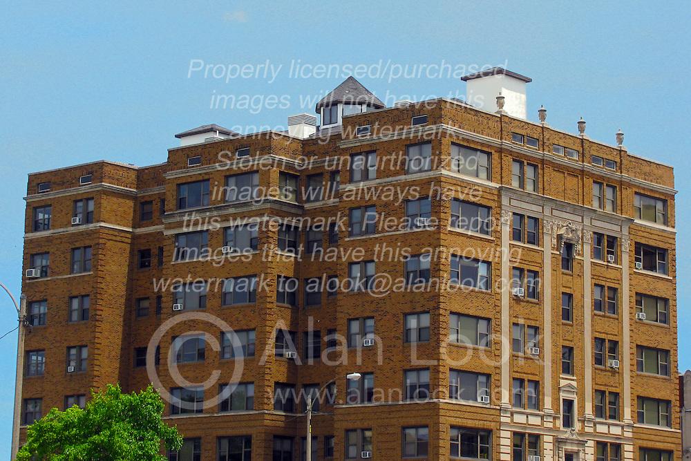 05 June 2014:   Downtown Bloomington. Lafayette Apartment Building, corner of Washington and McLean.