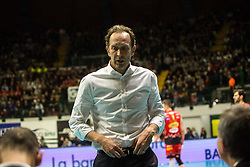 January 13, 2018 - Monza, Italy, Italy - Lorenzo Bernardi coach of Safety Conad Perugia (Credit Image: © Mairo Cinquetti/Pacific Press via ZUMA Wire)