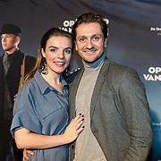 NLD/Zaandam/20190128- première musical Op Hoop van Zegen, Julia Berendse met partner David van de Tempel