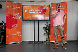 Hans Nieuwenburg, presschef Olympic Festival during the launch TeamNL Olympic Festival on June 23, 2021 in The Hague