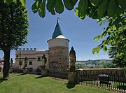 Baszta radziecka zXIV wieku, służyła celom obronnym.<br /> The Soviet empire of the fourteenth century served as defense.