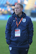 Steven Cooper England Coach during the UEFA European Under 17 Championship 2018 match between England and Israel at Proact Stadium, Whittington Moor, United Kingdom on 4 May 2018. Picture by Mick Haynes.