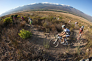during stage two of the 2010 Absa Cape Epic Mountain Bike stage race from Ceres to Ceres in the Western Cape, South Africa on the 21 March 2010.Photo by Greg Beadle/SPORTZPICS