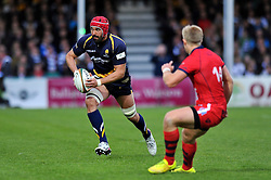 Jonathan Thomas of Worcester Warriors - Photo mandatory by-line: Patrick Khachfe/JMP - Mobile: 07966 386802 27/05/2015 - SPORT - RUGBY UNION - Worcester - Sixways Stadium - Worcester Warriors v Bristol Rugby - Greene King IPA Championship Play-off Final (Second leg)