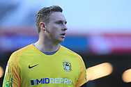 Emergency loan goalkeeper David Stockdale during the EFL Sky Bet League 1 match between Rochdale and Coventry City at Spotland, Rochdale, England on 9 February 2019.