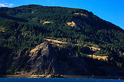 USA, Oregon, Columbia Gorge National Scenic Area, Viento State Park, looking across to Washington from Viento State Park.