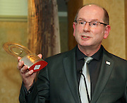 Dr Adrian Gundy at the EFQM Ireland Excellence Awards ceremony in association with Fáilte Ireland and the Centre for Competitiveness at the Galway Bay Hotel on Friday night. Photo:- Andrew Downes Photography / No Fee