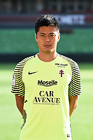 Eiji Kawashima of Metz during photoshooting of Fc Metz for season 2017/2018 on August 2nd 2017 in Metz<br /> Photo : Fred Marvaux / Icon Sport