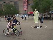 Yoda outside Tate Modern, London.  22 May 2016