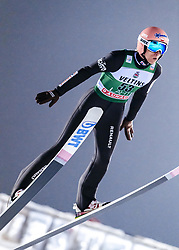 February 8, 2019 - Lahti, Finland - Dawid Kubacki competes during FIS Ski Jumping World Cup Large Hill Individual Qualification at Lahti Ski Games in Lahti, Finland on 8 February 2019. (Credit Image: © Antti Yrjonen/NurPhoto via ZUMA Press)