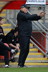 Leyton Orient Manager, Russell Slade issues instructions to his team - Photo mandatory by-line: Mitchell Gunn/JMP - Tel: Mobile: 07966 386802 12/10/2013 - SPORT - FOOTBALL - Brisbane Road - Leyton - Leyton Orient V MK Dons - League One