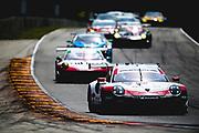 August 5 2018: IMSA Weathertech Continental Tire Road Race Showcase. 911 Porsche GT Team, Porsche 911 RSR, Patrick Pilet, Nick Tandy