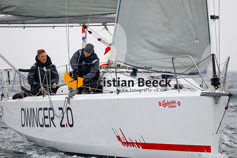 , Kiel - Maior 28.04. - 01.05.2018, ORC 3 - Dwinger 2.0 - GER 7262 - SUN FAST 3600 - Jens DWINGER - Yacht-Club Strande e. V
