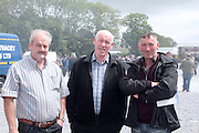 John Molloy Corofin, Charlie Ward Tuam and Gerry Molloy Corofin attending 'SHEEP2015', the major National Sheep Open Day hosted by Teagasc at Athenry on Saturday. Photo:- Andrew Downes / xposure.ie  No Fee. Issued on behalf of Teagas