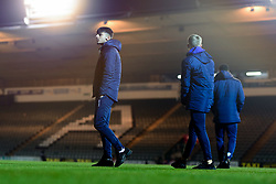 Lucas Tomlinson of Bristol Rovers arrives at Home Park prior to kick off - Mandatory by-line: Ryan Hiscott/JMP - 17/12/2019 - FOOTBALL - Home Park - Plymouth, England - Plymouth Argyle v Bristol Rovers - Emirates FA Cup second round replay