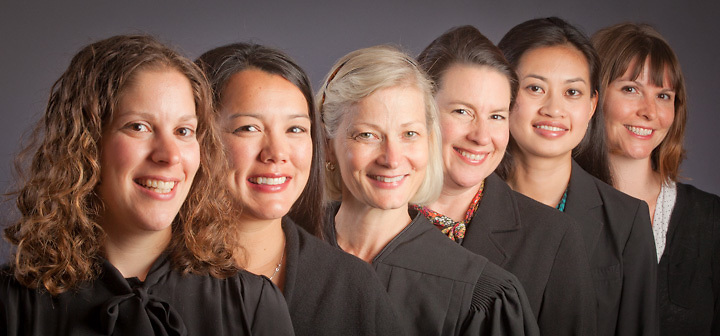 United States Court of Appeals for the Ninth Circiut judge, Morgan Christen, with her clerks