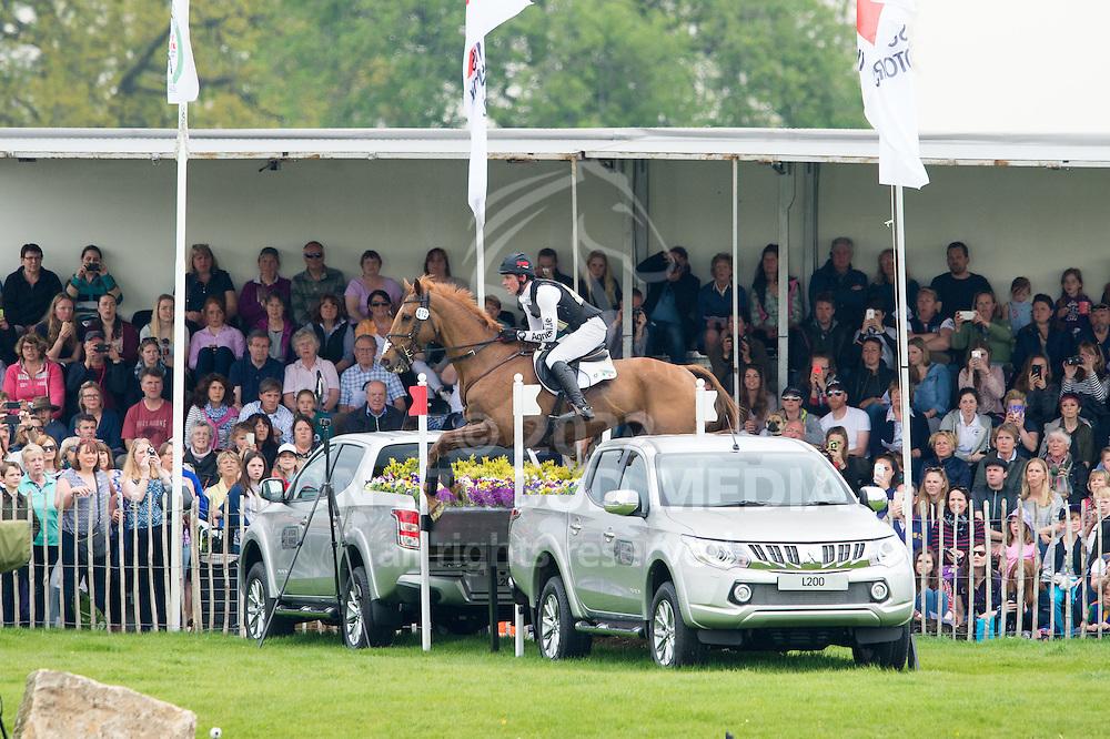 Joseph Murphy (IRL) & DHI Topstory - Cross Country - CCI4* - Mitsubishi Motors Badminton Horse Trials 2016 - Badminton, Gloucestershire, United Kingdom - 07 May 2016