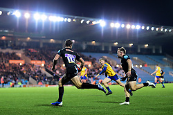 Tom Wyatt of Exeter Braves scores his sides second try of the game  - Mandatory by-line: Ryan Hiscott/JMP - 16/12/2019 - RUGBY - Sandy Park - Exeter, England - Exeter Braves v Bath United - Premiership Rugby Shield