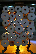 Pedro Leopoldo_MG, Brasil...Linhas de uma fabrica textil em Pedro Leopoldo...Lines at a textile factory in Pedro Leopoldo...Foto: LEO DRUMOND / NITRO