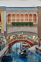 Casino The Venetian , Macao - June 1 , 2014:  interiors view of the Venetian Casino hotel in Macao Island