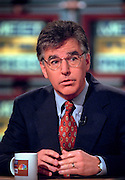 Rep. Marty Meehan (D-MA) discusses the ongoing scandal involving President Clinton during NBC's Meet the Press September 27, 1998 in Washington, DC. Meehan is a member of the House Judiciary committee which will investigate the President.