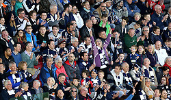 A full South Stand at Ashton Gate watch The Playoff Final between Bristol Rugby and Doncaster Knights - Mandatory byline: Robbie Stephenson/JMP - 25/05/2016 - RUGBY UNION - Ashton Gate Stadium - Bristol, England - Bristol Rugby v Doncaster Knights - Greene King IPA Championship Play Off FINAL 2nd Leg.