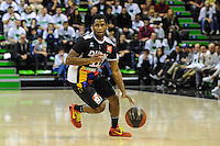 Erving Walker  - 23.03.2015 - Lyon Villeurbanne / Dijon - 25e journee Pro A<br /> Photo : Jean Paul Thomas / Icon Sport