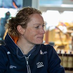 19-02-2020: Wielrennen: persmoment KNWU: Alkmaar <br />Kirsten Wild