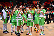 Team Banco di Sardegna Dinamo Sassari<br /> Filou Ostenda - Banco di Sardegna Dinamo Sassari<br /> FIBA BCL Basketball Champions League 2018-20<br /> Ostenda, 07/01/2020<br /> Foto L.Canu / Ciamillo-Castoria