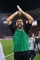 Juve festeggia la vittoria dello scudetto celebration Gigi Buffon<br /> Roma 13-05-2018 Stadio Olimpico<br /> Campionato Serie A, <br /> AS Roma - Juventus<br /> Foto Matteo Ciambelli / Insidefoto