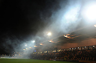a general scene during fireworks. Rabodirect Pro12 rugby match, Newport Gwent Dragons v Ospreys at Rodney Parade in Newport, South Wales on New Years Eve, Monday 31st Dec 2012. pic by Andrew Orchard, Andrew Orchard sports photography,