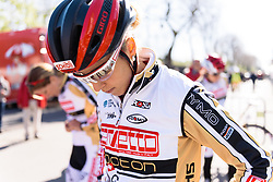 Jolanda Neff (Servetto Footon) - Flèche Wallonne Femmes - a 137km road race from starting and finishing in Huy on April 20, 2016 in Liege, Belgium.