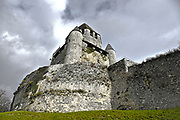 Tour Cesar (Caesar's Tower) a 12 century keep in Provins, Ile-de-France, France
