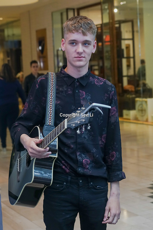 London, UK. 3rd September 2017.Finalists Purple Day Band of two preforms at the Mayor Of London Gigs at Westfield London.
