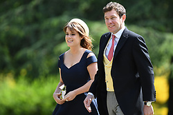 File photo dated 20/05/17 of Princess Eugenie of York and her long-term boyfriend Jack Brooksbank arriving at St Mark's church in Englefield, Berkshire, for the wedding of Pippa Middleton and James Matthews. Buckingham Palace has announced that they have become engaged.