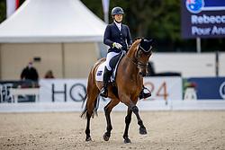 Rooke Rebecca, AUS, Pour Andrig De Barroue<br /> World Championship Young Horses Verden 2021<br /> © Hippo Foto - Dirk Caremans<br /> 26/08/2021