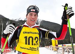 11.12.2010, Biathlonzentrum, Obertilliach, AUT, Biathlon Austriacup, Sprint Men, im Bild Lorenz Wäger (AUT, #103). EXPA Pictures © 2010, PhotoCredit: EXPA/ J. Groder