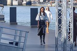 Liya Kebede attending the L Oreal Fashion Show in Paris, France on September 30, 2018. Photo by Julien Reynaud/APS-Medias/ABACAPRESS.COM