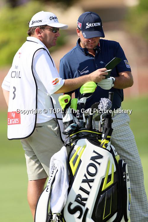 Graeme MCDOWELL (NIR) during third round DP World Tour Championship 2013,Jemeirah Golf Estates, Dubai,UAE.