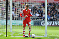 Southampton's Adam Lallana.Barclays Premier league match, Swansea city v Southampton at the Liberty stadium in Swansea, South Wales on Saturday 3rd May 2014.<br /> pic by Andrew Orchard, Andrew Orchard sports photography.