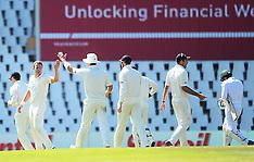 South Africa v New Zealand 2nd Test Match D1 27 Aug 2016